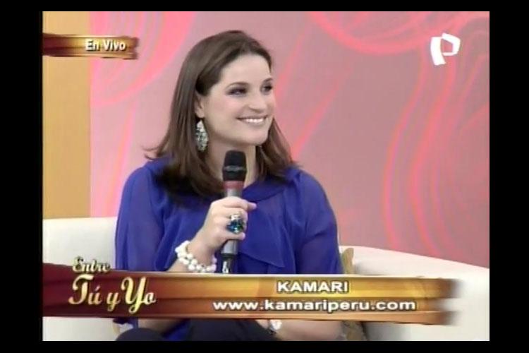 """Entrevista a Luciana de la Fuente en """"Entre tú y yo"""" de Panamericana Televisión"""