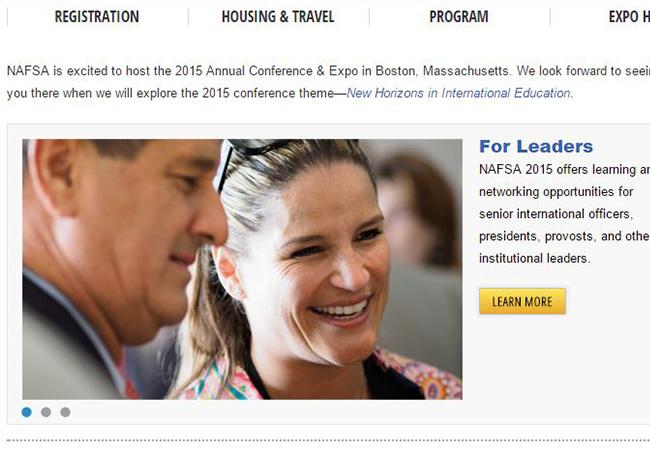 Usil participará en Nafsa 2015 en Bostón, Estados Unidos