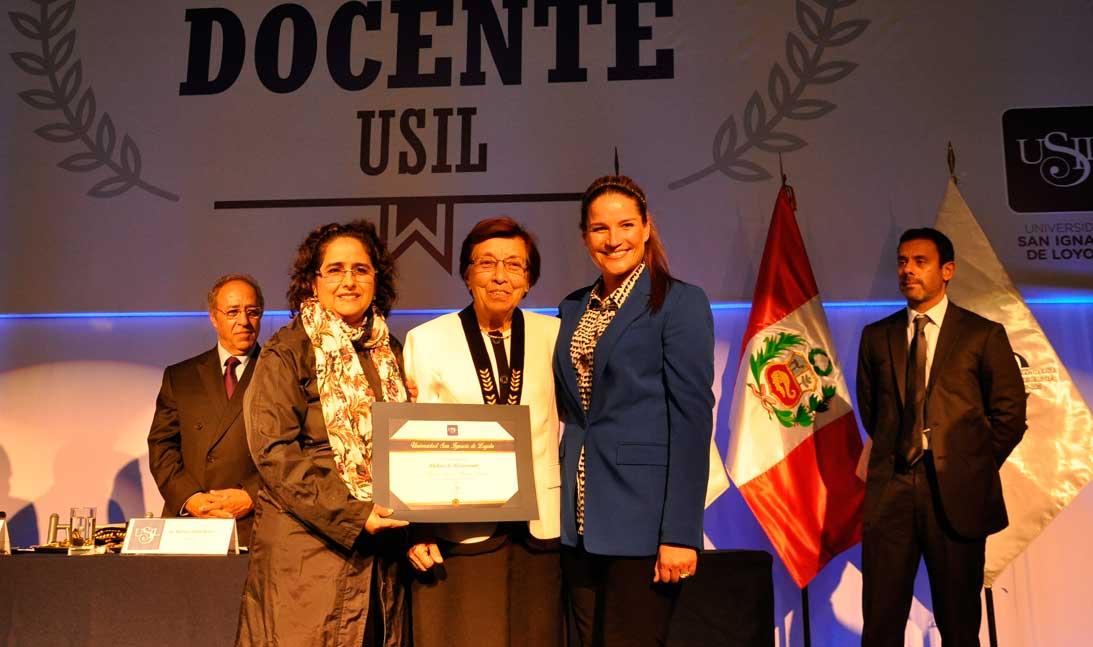 USIL distinguió a sus mejores profesores