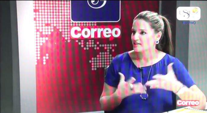 Entrevista a Luciana de la Fuente en Los Desayunos de Correo y USIL