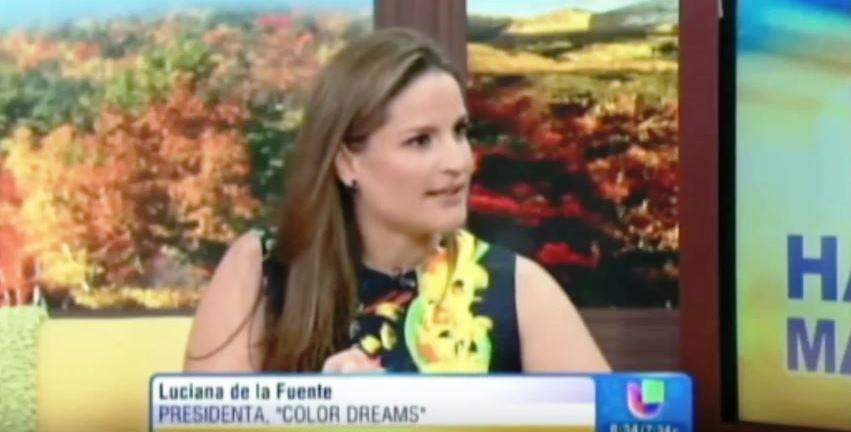 Entrevista a Luciana de la Fuente en Univisión