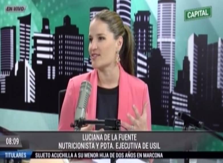 """Luciana de la Fuente: """"Comer saludable no significa privarse de todo"""""""