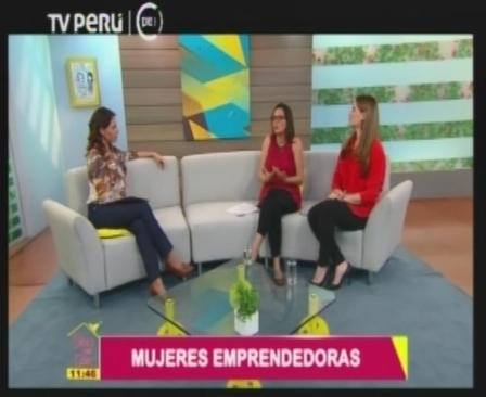 """Luciana de la Fuente: """"La mujer peruana es  emprendedora, creativa y solidaria"""""""