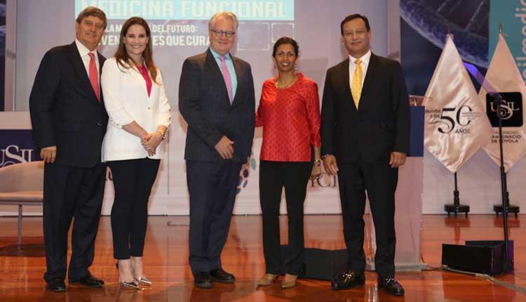 Luciana de la Fuente inauguró el Primer Simposio Internacional de Medicina Funcional